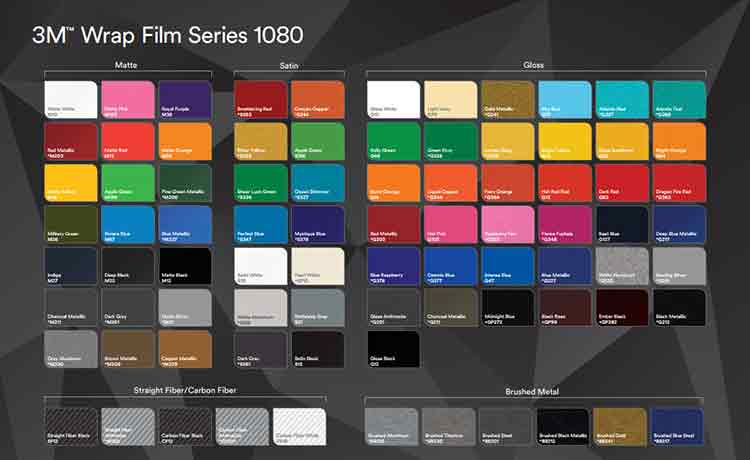 1080 Wrap Film Series Style Options